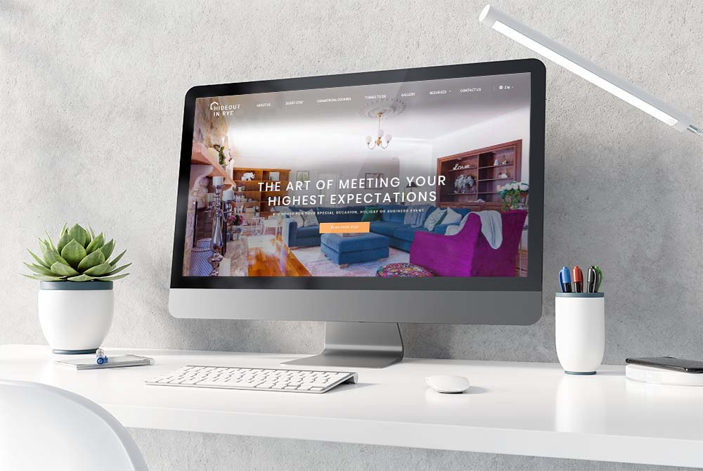 Web Design for Holiday Rental Company