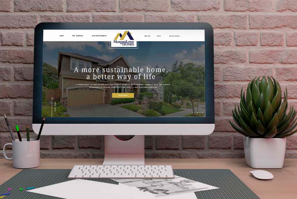 Web Design for MorganLowe Homes