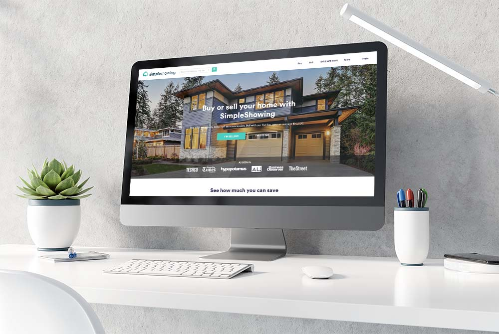 Website Design for SimpleShowing Real Estate